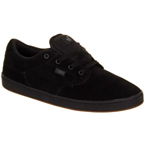 DVS Quentin Shoes - Black Suede