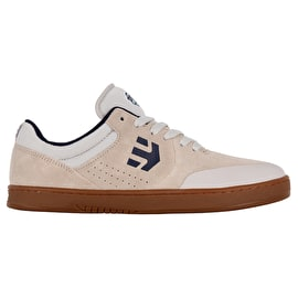 Etnies Marana X Happy Hour Skate Shoes - White/Gum