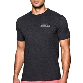 Under Armour Men's Military Issue T-Shirt Black/Graphite