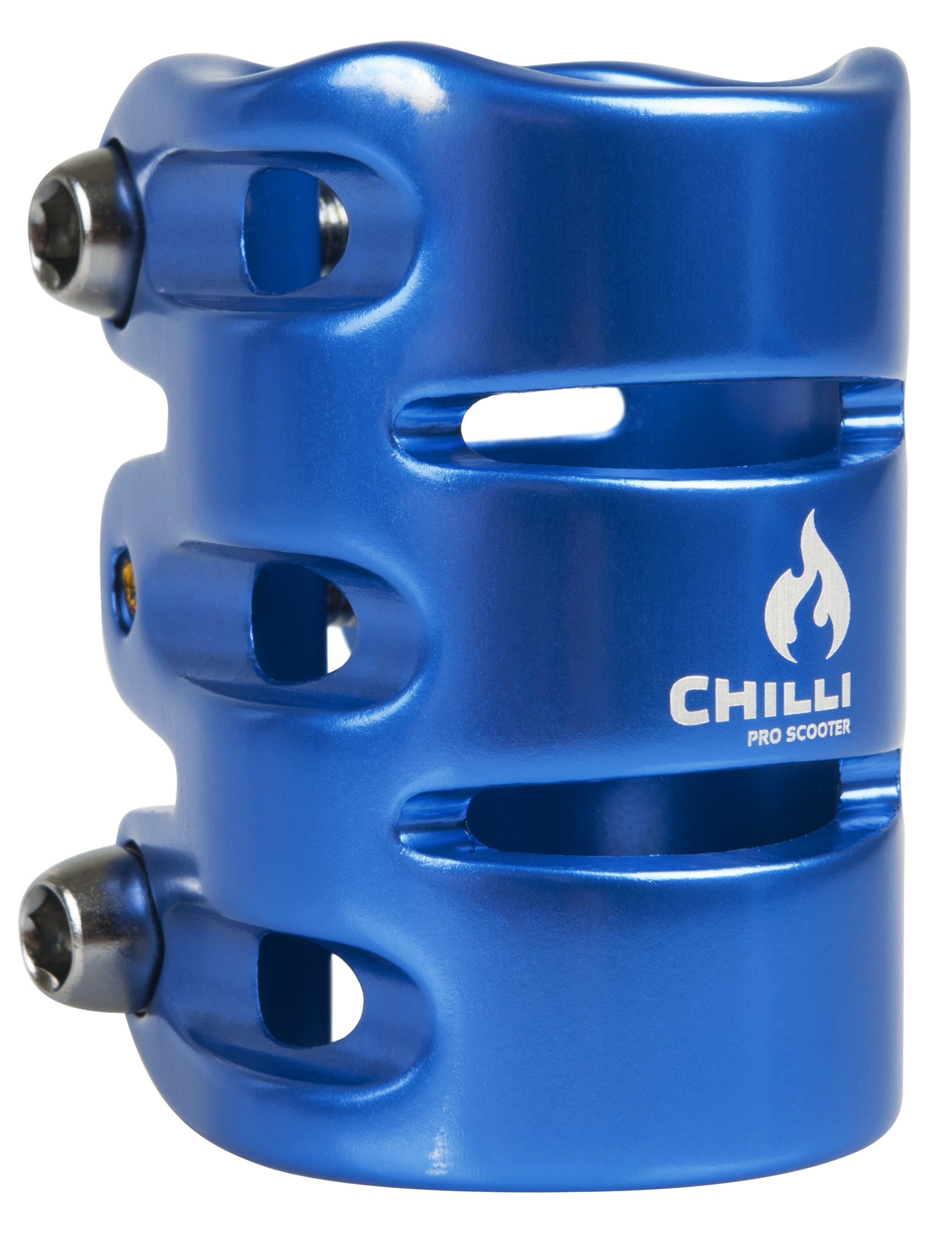 Image of Chilli Pro HIC 3 Bolt Scooter Clamp - Blue