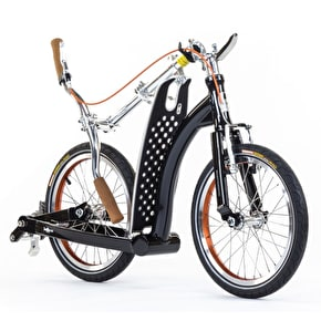 SwiftyONE MK3 Folding Commuter Scooter - Classic Black/Orange