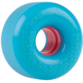 Remember Pee Wee 62mm Longboard Wheels - Powder Blue