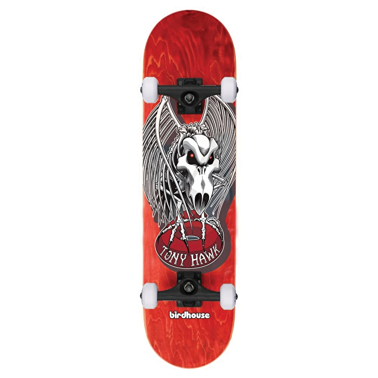 Birdhouse Stage 3 Falcon 4 Complete Skateboard - Red 7.5""