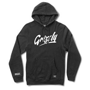 Grizzly Freehand Hoodie - Black