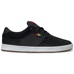DVS Quentin Shoes - Black/Rasta