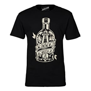 Santa Cruz Bottled T-Shirt - Black