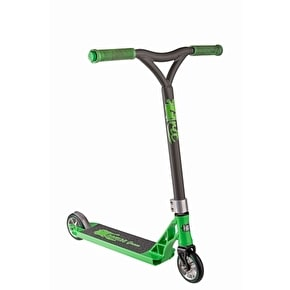 Grit 2017 Tremor Grom Complete Scooter - Acid Green/Grey