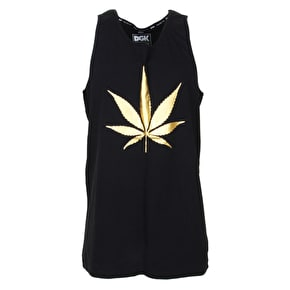 DGK Chronic Custom Tank Top - Black Foil
