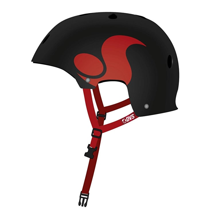 DVS Ace Helmet - Black/Red