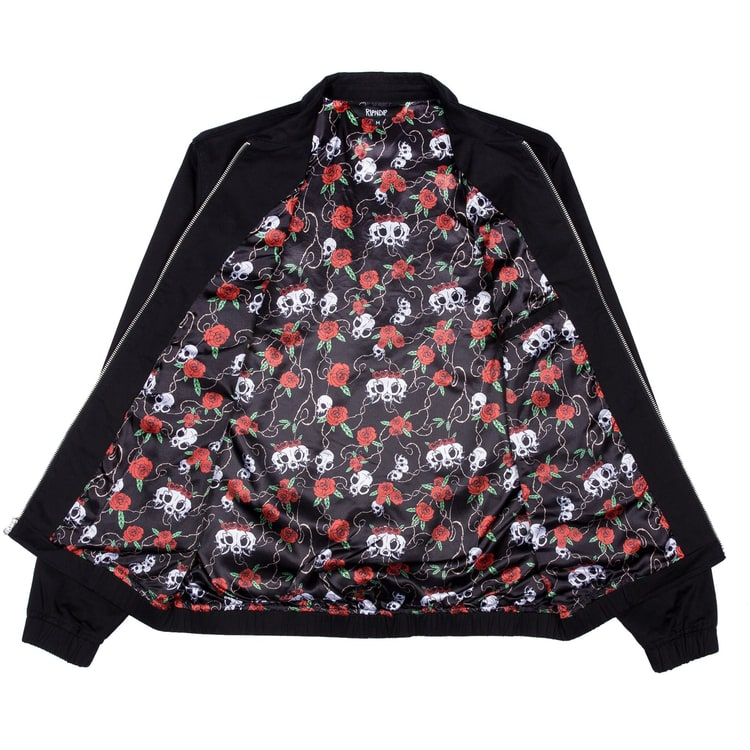 RIPNDIP Dead Rose Cotton Coach  Jacket - Black