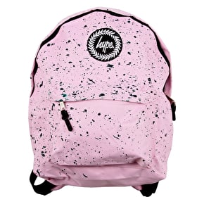 Hype Speckle Backpack - Baby Pink/Emerald