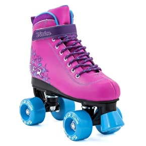 B-Stock SFR Vision II Kids Roller Skates - Pink/Blue J12 (Slightly scuffed)