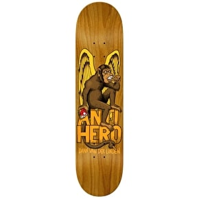 Anti Hero Daan The Thinker Skateboard Deck - Assorted Stain 8.28