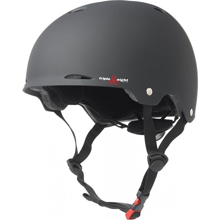 Triple 8 Gotham Helmet - Black Rubber