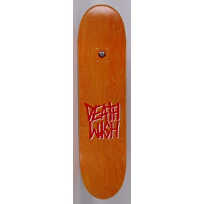 Deathwish Deathspray Skateboard Deck - Black/Red 8