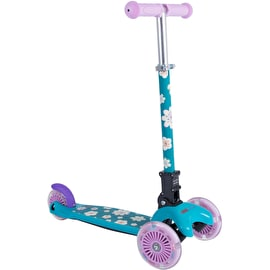 Kiddimoto U-Zoom - Fleur Kids Complete Scooter - Blue/White