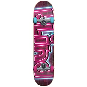 Blind Late Night Complete Skateboard w/Stocking - Pink/Blue 7.375