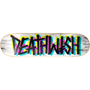 Deathwish Deathspray Multi 3D Skateboard Deck 8