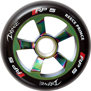 Drone RP5 110mm Wheel - Neochrome/Black