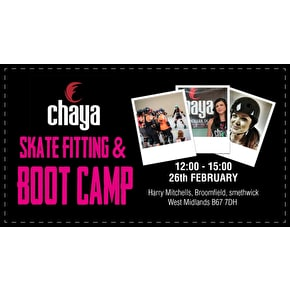 Chaya Fitting & Boot Camp Ticket