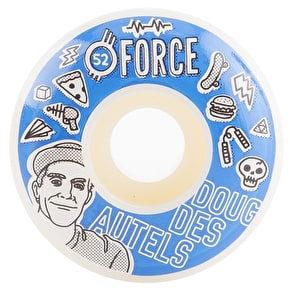 Force Bored Des Autels Skateboard Wheels - 52mm