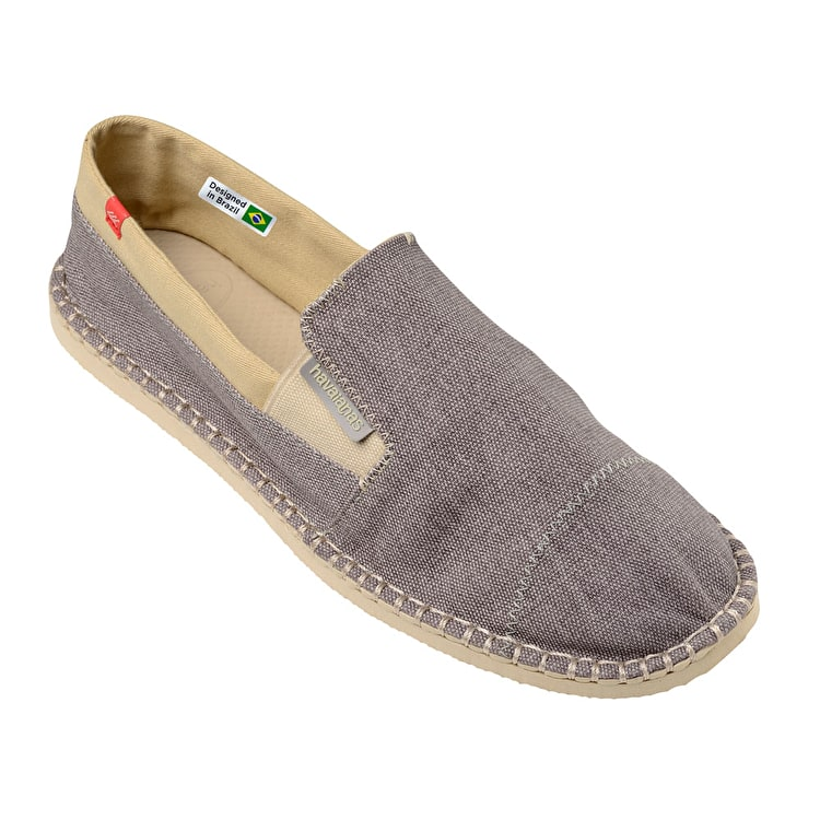 B-Stock Havaianas Origine Yacht Espadrilles - Grey - UK 8 (Box Damage)
