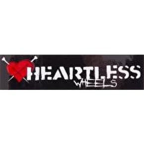Heartless Roller Derby Wheels Sticker