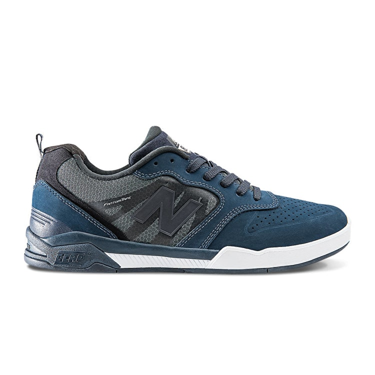 New Balance 868 Skate Shoes - Obsidian/White