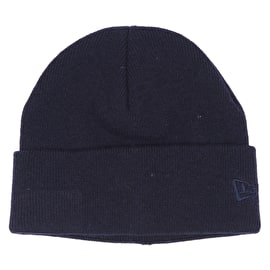 New Era Premium Classic Knit Beanie - Navy