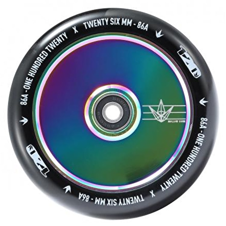 Blunt 120mm Hollow Scooter Wheel - Oil Slick