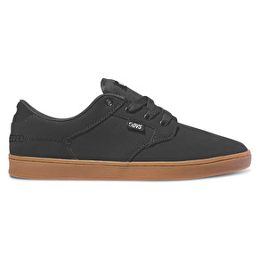 DVS Quentin Skate Shoes - Black Leather