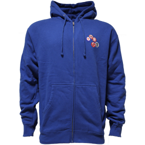 Enjoi Punky Zip-up Hoodie - Blue