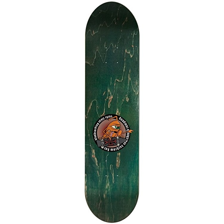 Toy Machine Harmony Tract Pro Skateboard Deck - 8.25""