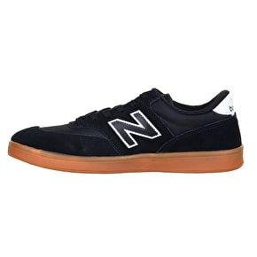 New Balance Allston 617 Skate Shoes - Black/Gum/White