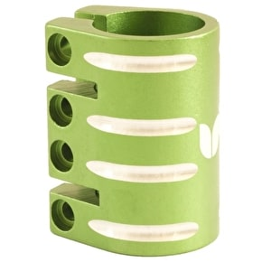 Blazer Pro Quad Bolt Collar Clamp with Shim - Green