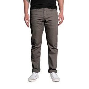 Kr3w K Slim 5 Pocket Chinos - Warm Grey