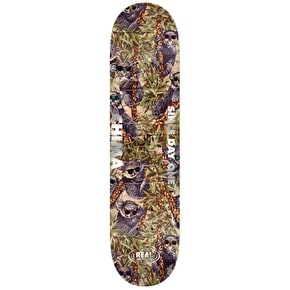Real Fabric Oval Embossed Skateboard Deck - Ferguson 8.06