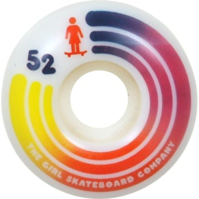 Girl United 98A Skateboard Wheels - 52mm