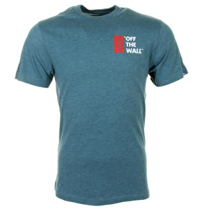 Vans Off The Wall T-Shirt - Atlantic/Deep Heather