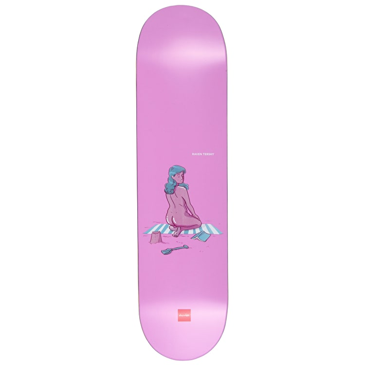 "Chocolate Sunbathers Series Skateboard Deck 8.25"" - Raven Tershy"