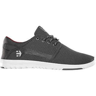 Etnies Scout Skate Shoes - Dark Grey/White/Red