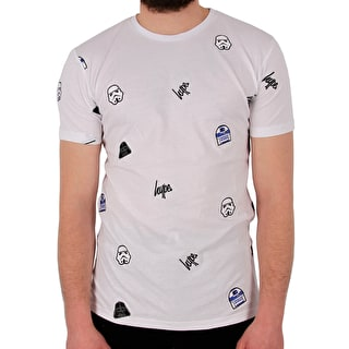 Hype Star Wars Characters T shirt - White