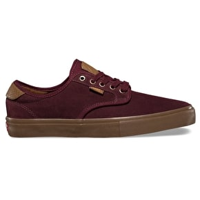 Vans Chima Ferguson Pro Skate Shoes - (Suede) Port Royale/Gum