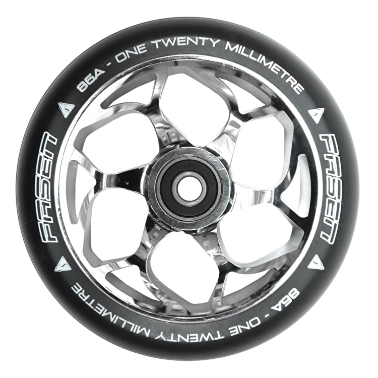 Fasen 120mm Scooter Wheel - Chrome