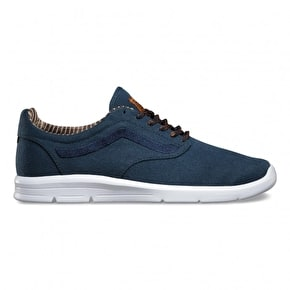 Vans ISO 1.5 - (Waxed C&L) Dress Blues/White
