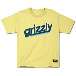 Grizzly Fast Time Cubs T Shirt - Banana