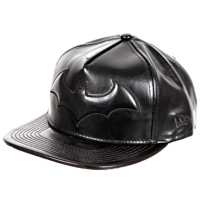 New Era PU Bevel Batman Snapback Cap