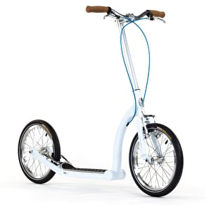 SwiftyZERO MK2 Commuter Scooter - Cool White/Silver