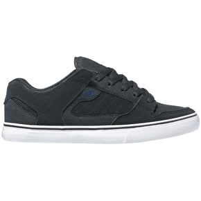 DVS Militia CT Shoes - Black/Grey/Blue Nubuck