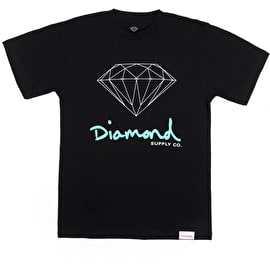 Diamond Supply Co OG Sign T Shirt - Black